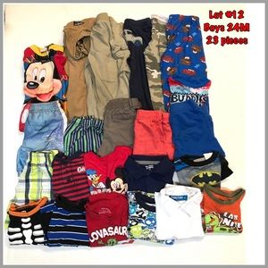 Other - Lot #12 boys 24 months clothes 23 pieces